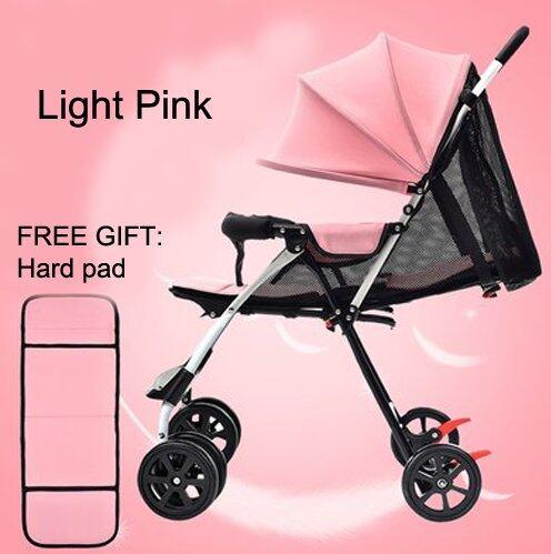 Premium & Ultra-light, One-Hand Folding Newborn Baby Stroller