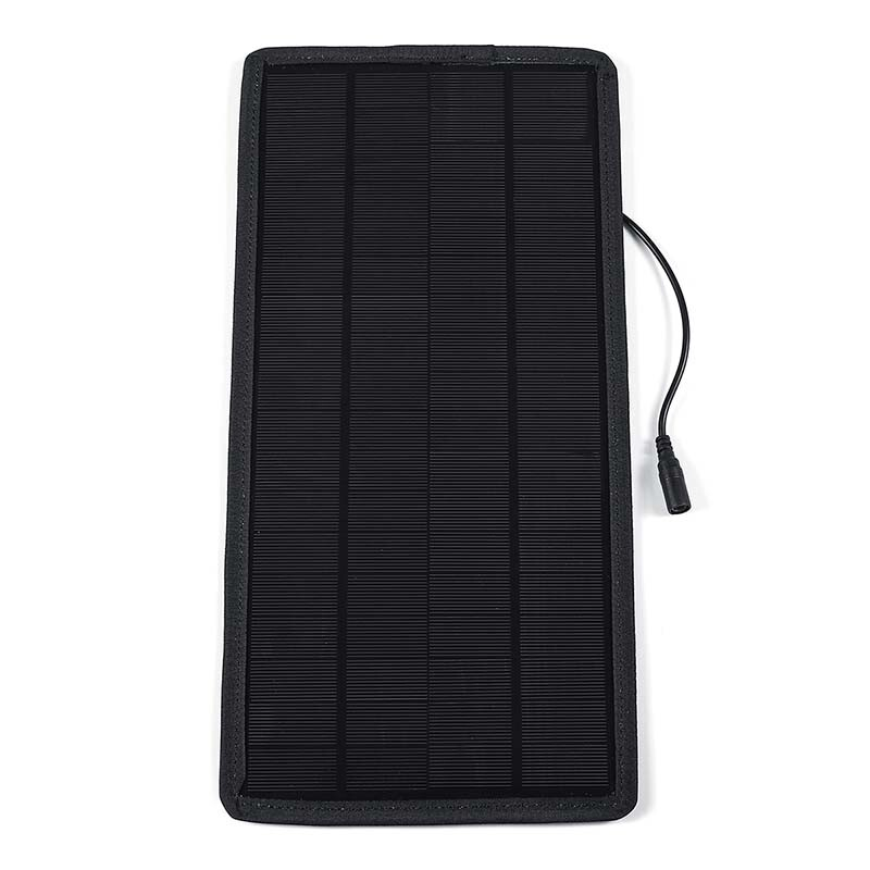 Automotive Tools & Equipment - 15W 5V/12V Solar Panel Monocrystalline Silicon Car Battery Cell Charger Module - Car Replacement Parts
