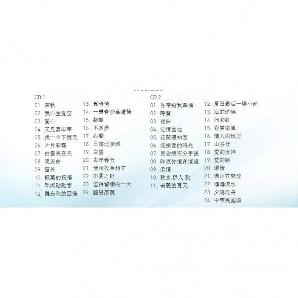 Fei Yu Qing - 2CD HDCD Audio Remastering