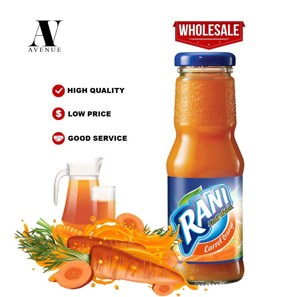 Rani  Cocktail Fruit Drink 200 ml glass bottle