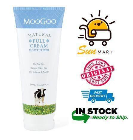MooGoo Full Cream Moisturiser / Moisturizer 200ml