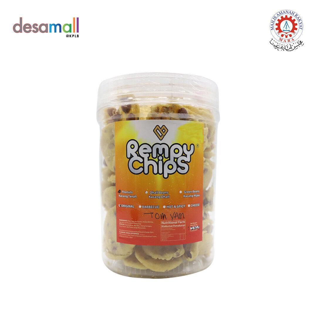 REMPY CHIPS Rempeyek Kacang Tanah (300g) - Cheese