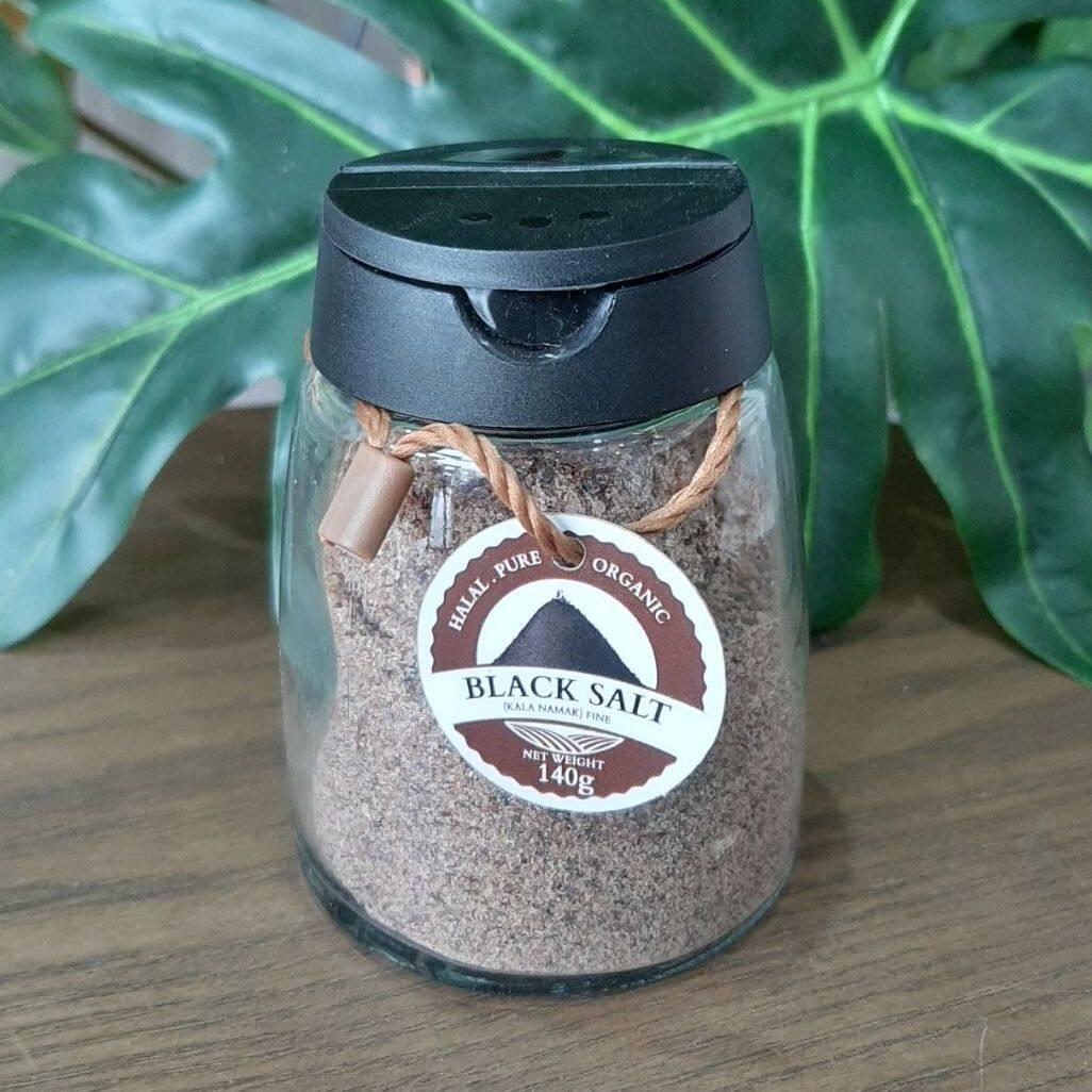 Black Salt Kala Namak Garam Bukit Hitam 140g