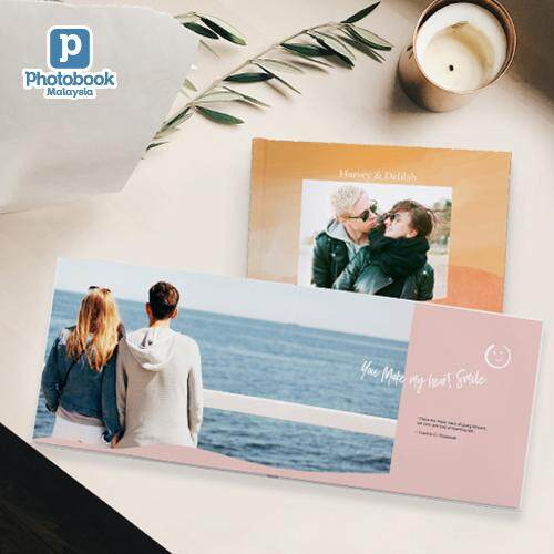 "[e-Voucher] Photobook Malaysia 11"" x 8.5"" Medium Landscape Imagewrap Premium Lay Flat Photobook, 22+2 Pages"