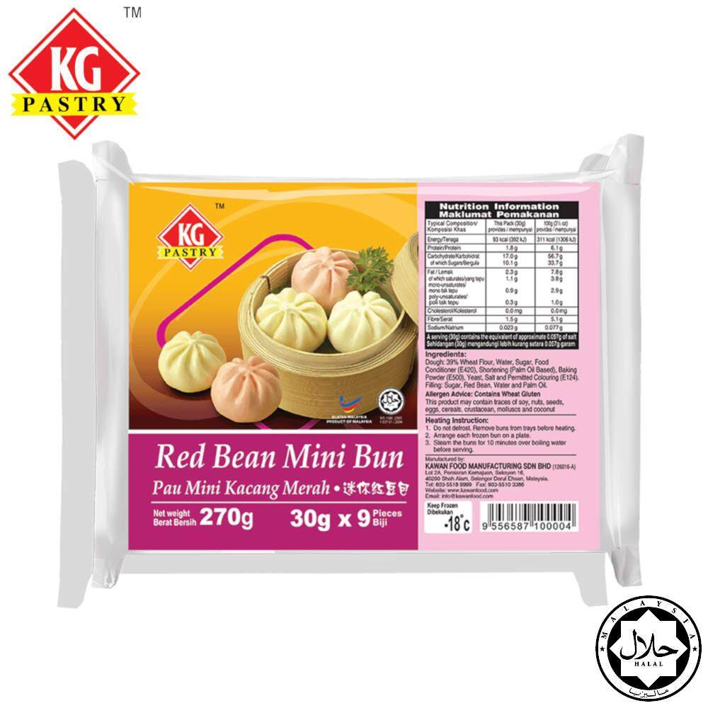 KG PASTRY Mini Red Bean Bun (9 pcs - 270g)