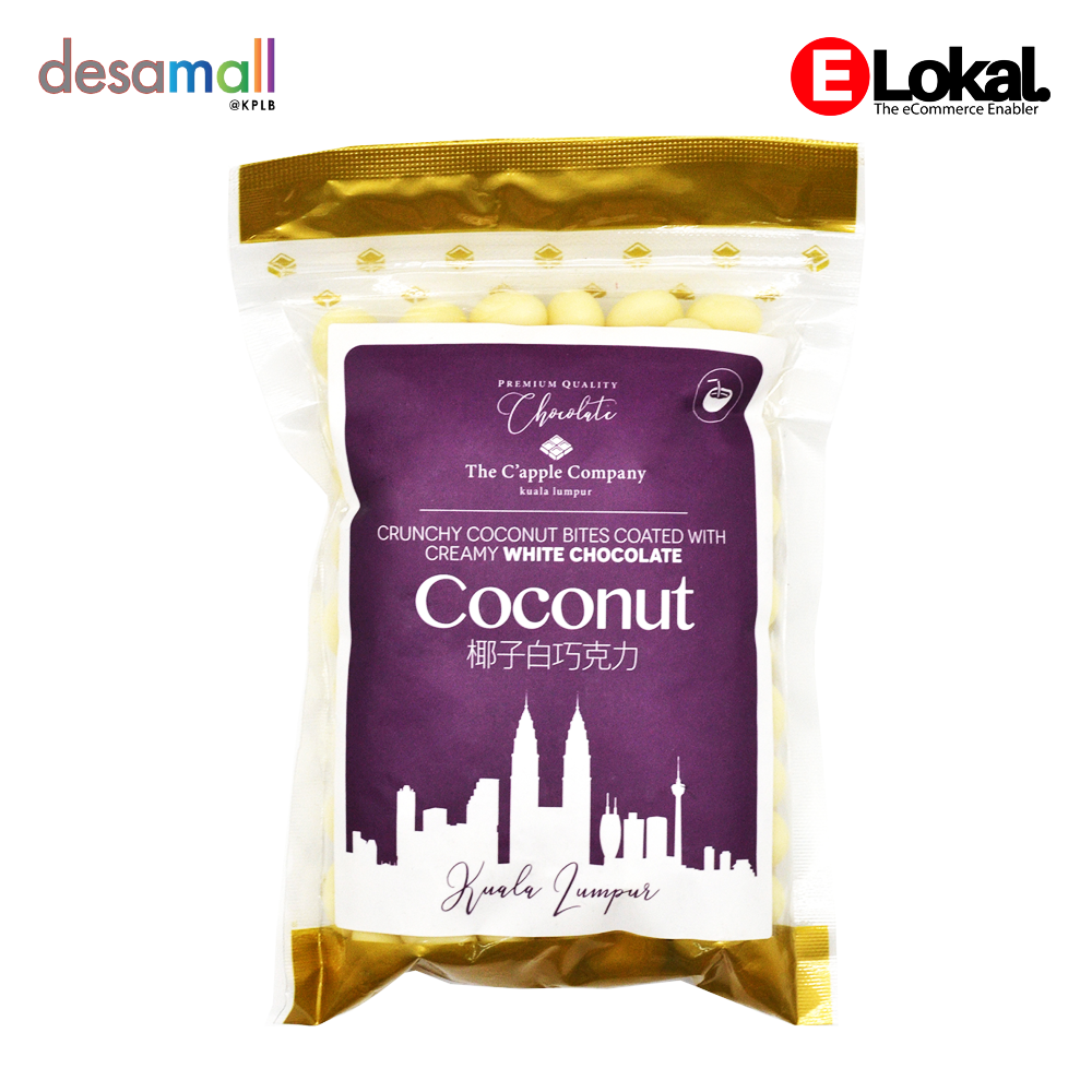 C'APPLE White Chocolate - Coconut (250g)
