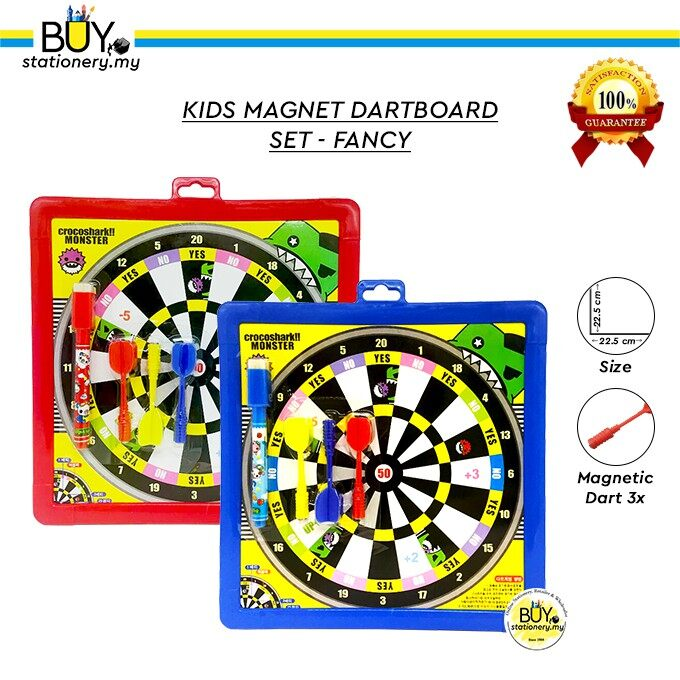 Kids Magnet Dartboard Set - Fancy