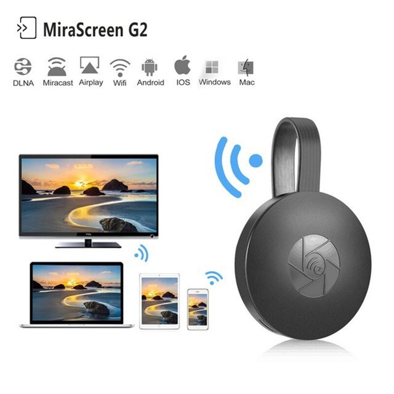 G2 TV Stick MiraScreen for Android WIRELESS WiFi Display TV Dongle Receiver 1080P HD TV Stick