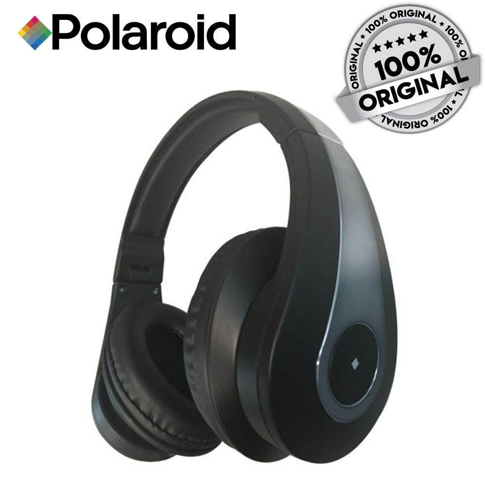 Polaroid Foldable And Portable Over-Ear Headphone With Microphone PR-H004 (Original Polaroid)