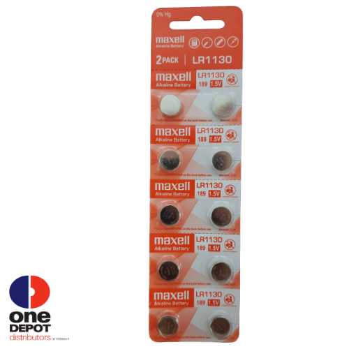 Maxell Alkaline Battery LR1130 (1pc)