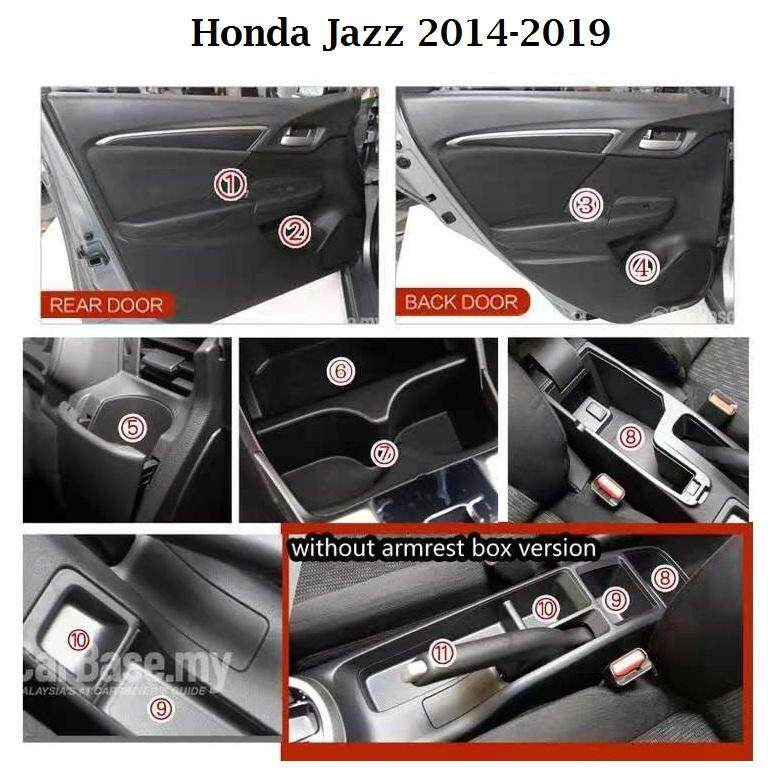Honda Jazz 2014-2019 Car Interior Slot Mat