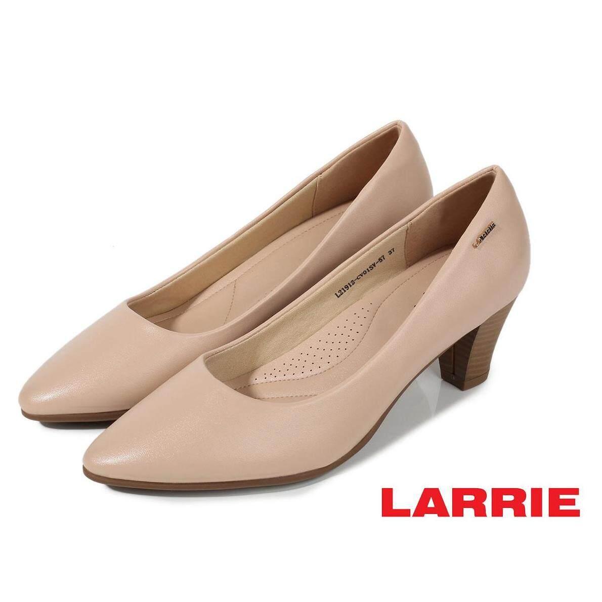 LARRIE Kasut Wanita Elegance Comfortable Basic Heels - L21912-CV01SV