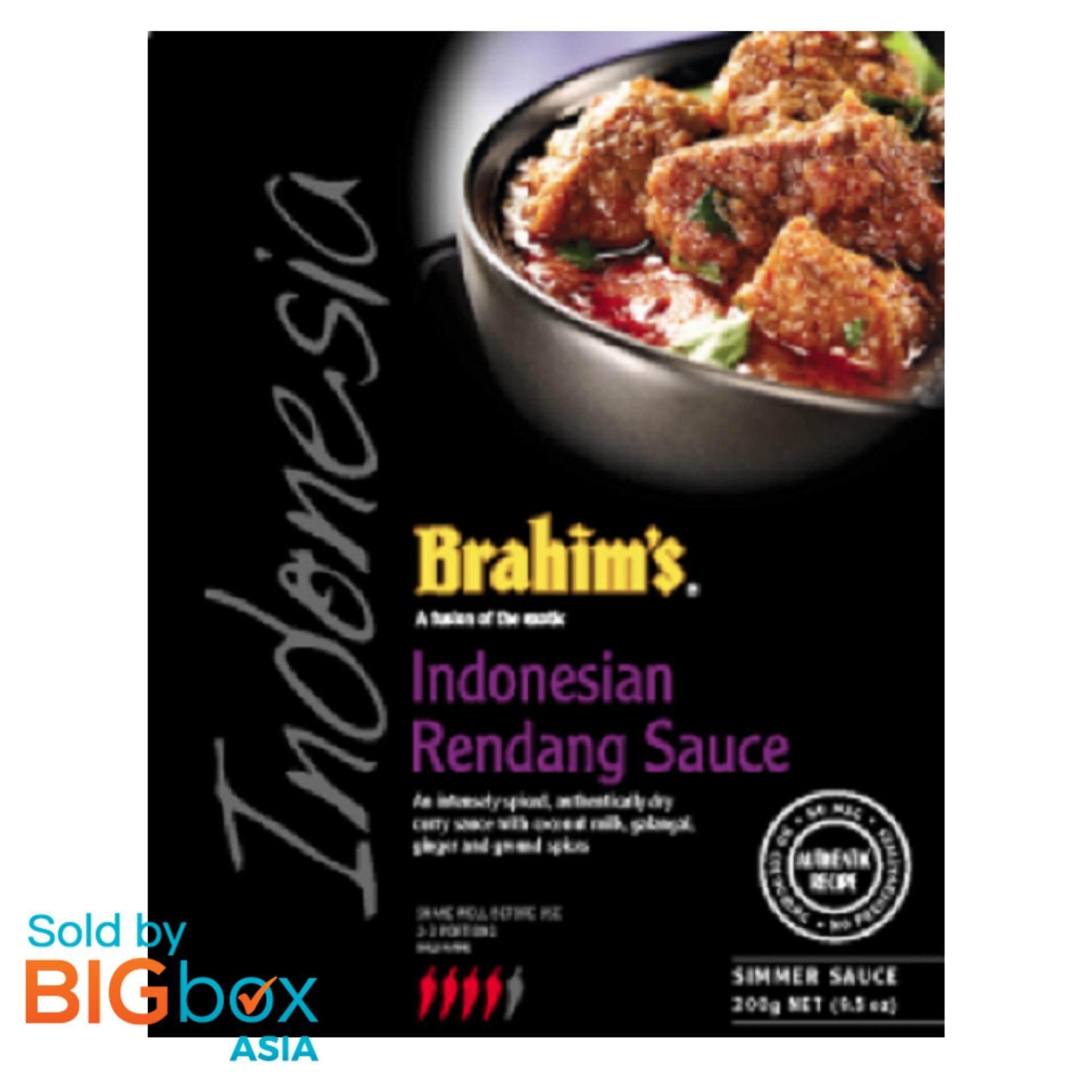 [BIGBox Asia] Brahim's Rendang Simmer Sauce/Kuah Rendang Indonesia 300g - Malaysia