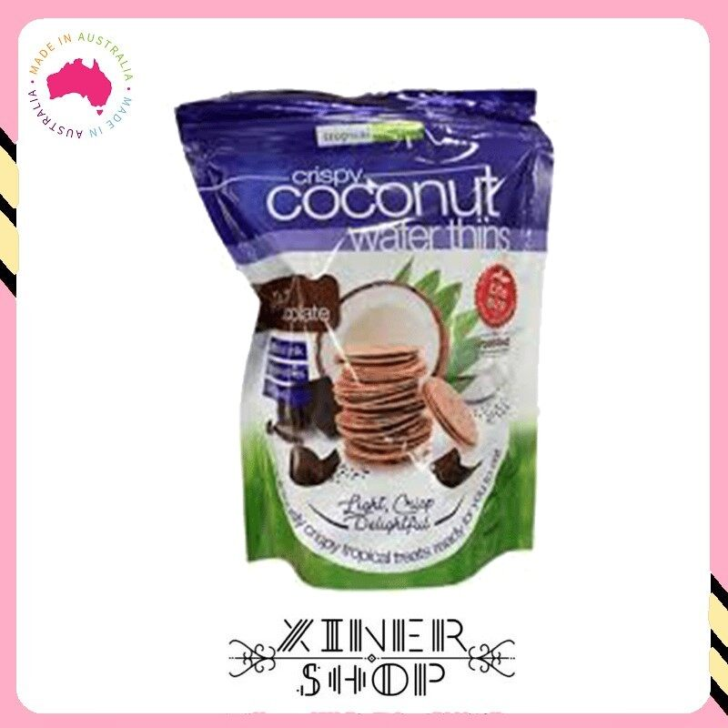 [Pre Order] Australia Costco Tropical Fields Crispy Coconut Wafer Thins ( 397g )(Import from Australia)