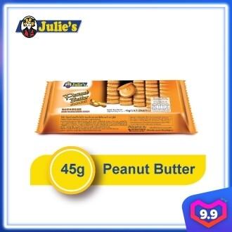 Julie's Peanut Butter Sandwich 45g