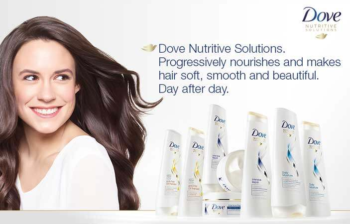 DOVE Nourishing Oil Care Shampoo (320ml)