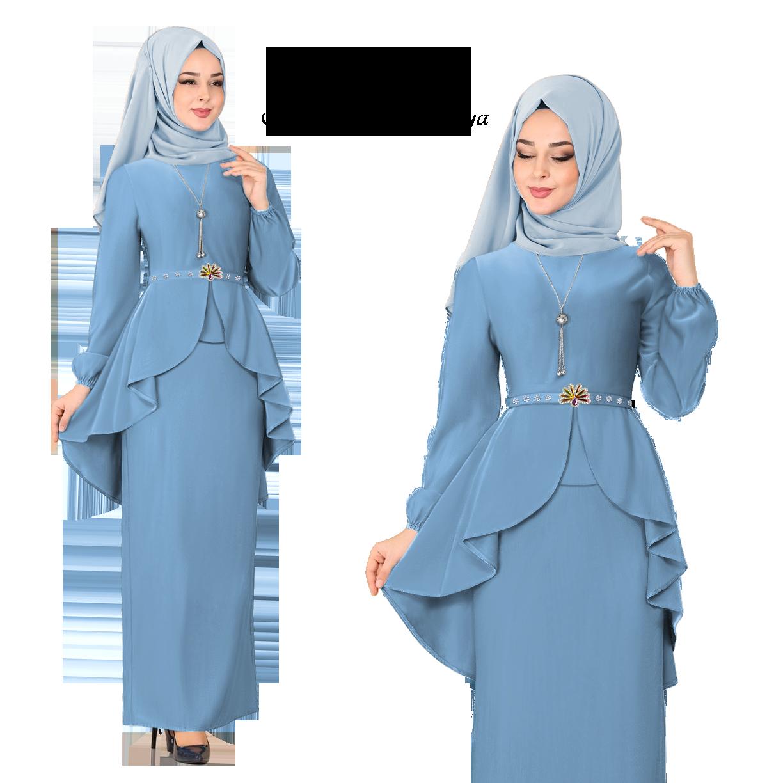 New Collection KM Fashion Baju Kurung Modern New Season Baju Raya ( Hot & Trendy ) ( Ready Stock ) 2020