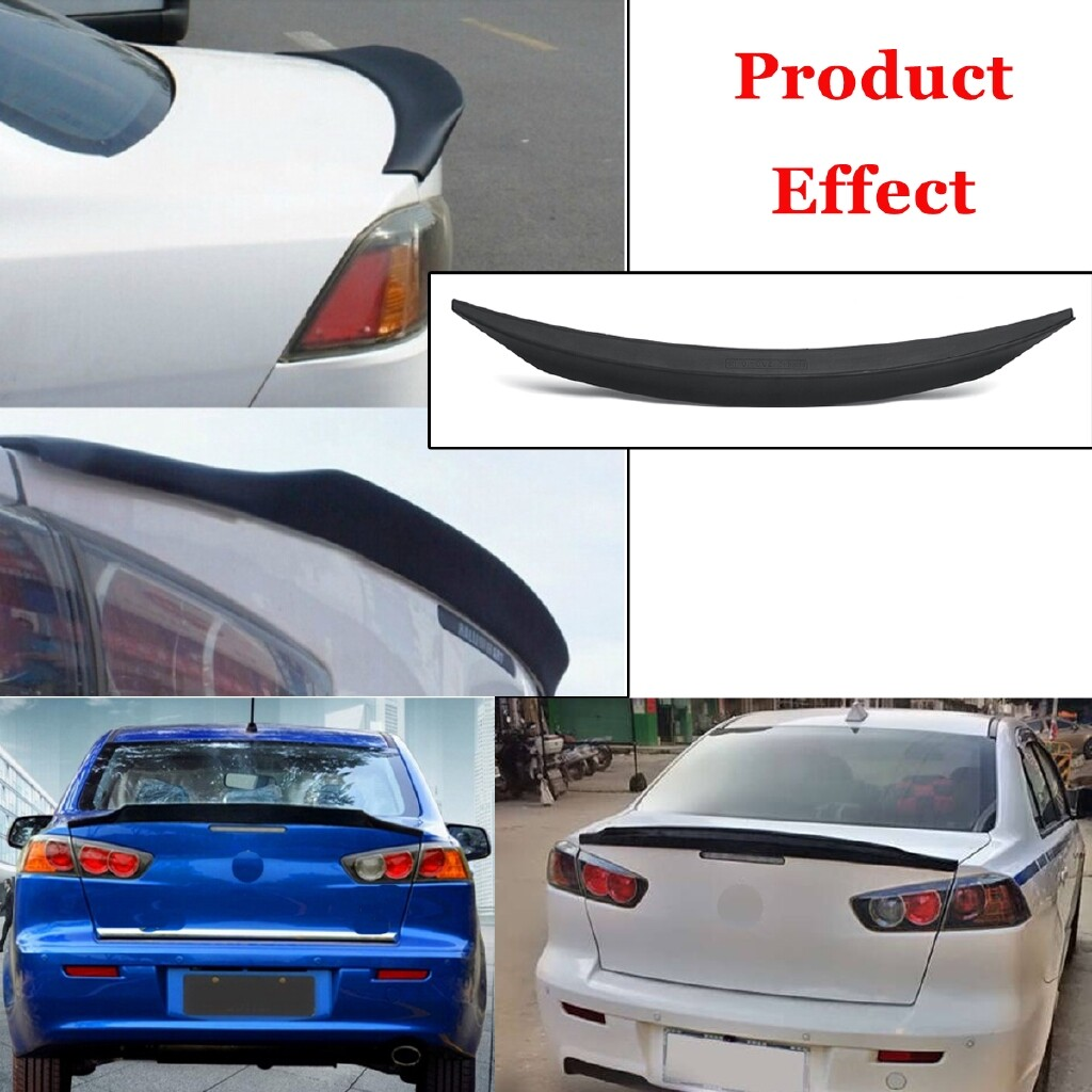 Engine Parts - Car Rear Trunk Lip Spoiler Wing For Mitsubishi Lancer Evo X 10 2008-2017 - Car Replacement