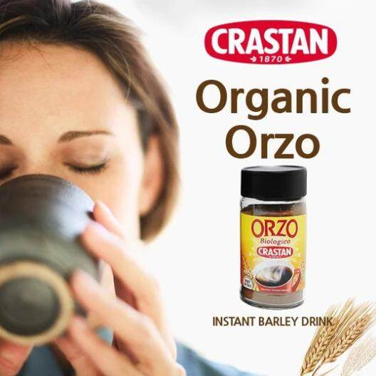 ORZO CRASTAN INSTANT BARLEY DRINK 85g x 2 - TWIN PACK