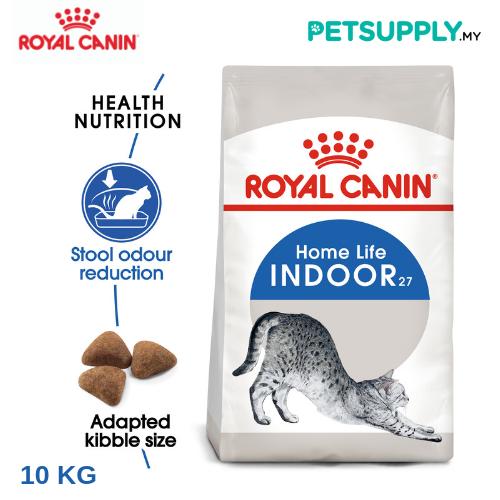 Royal Canin Dry Cat Food Indoor 27 10kg [makanan kucing - PETSUPPLY.MY]