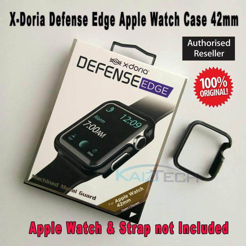 READY STOCK [42mm] Original X-Doria Defense Edge Apple Watch Case for 42mm Apple Watch Series 1, Series 2, Series 3 and Nike Edition (Apple Watch & Strap NOT included)