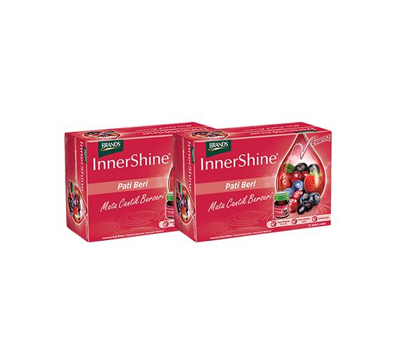 BRAND'S Innershine Berry Essence 6's Twin Pack - 12 bottles x 42ml (Near Expiry: July 2020) (NE)