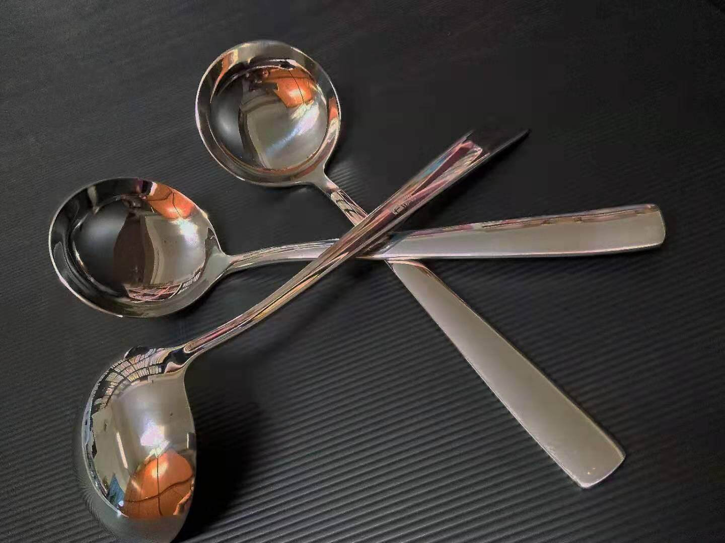 STAINLESS STEEL [18-10] SOUP LADLE