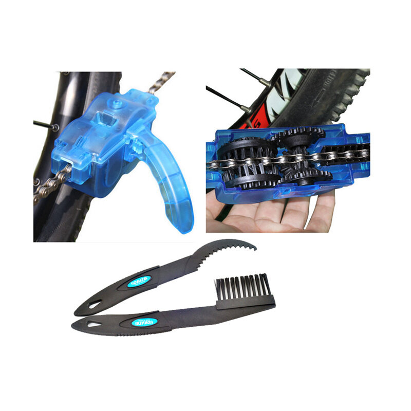 YKBIKE [LOCAL READY STOCK] Bicycle Chain Cleaner Set Cycling Bike Tool Racing Bicycle Parts MTB Bike Accessories OTR54