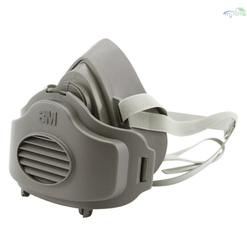 Protective Clothing & Equipment - 3M 3200 Dust Mask Respirator Half Face Dust-proof Mask Anti Industrial Construction Dust Haze Fog - 02 / 01