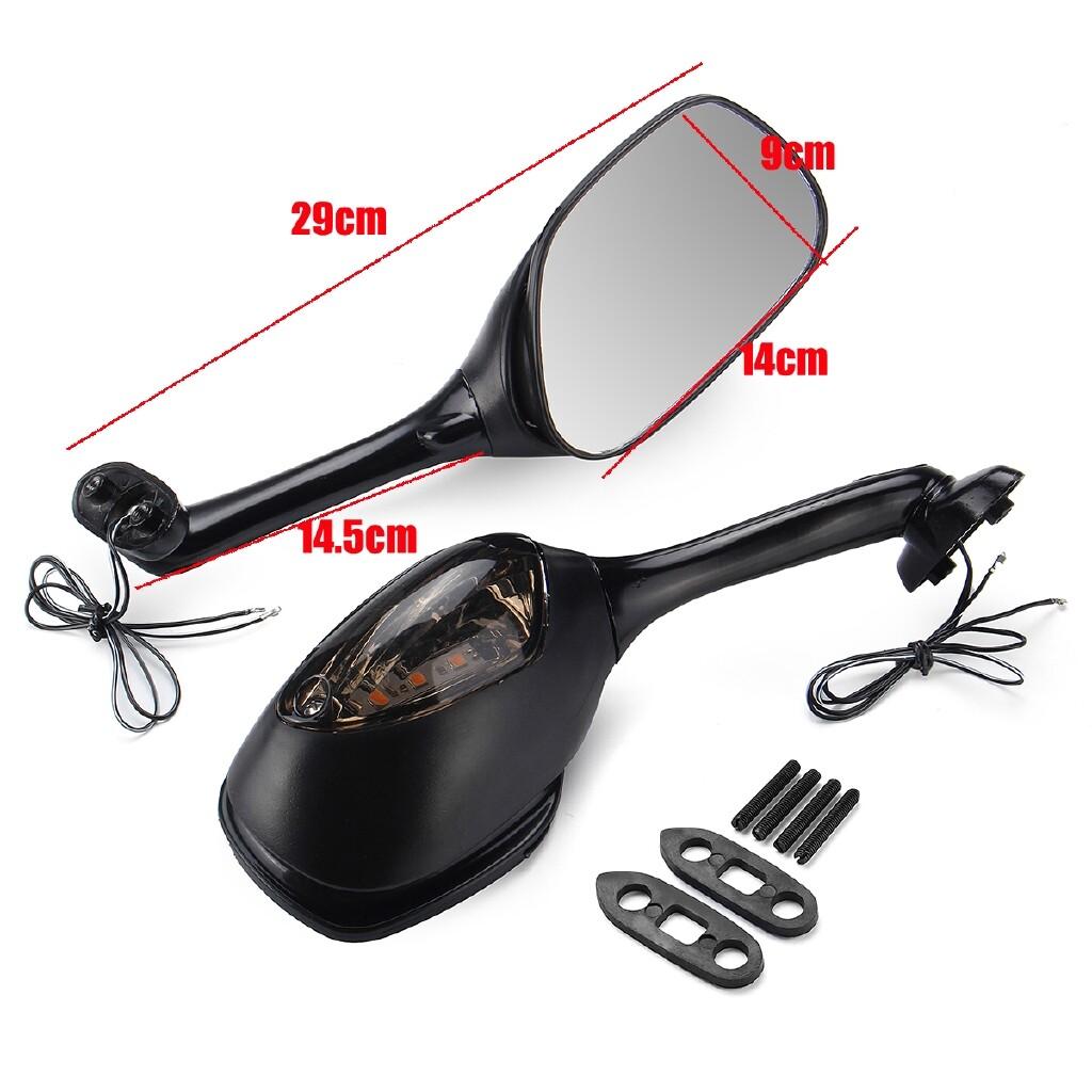 Moto Accessories - Side Rear View Mirror Signal For Suzuki GSXR1000 2005-2015 GSXR600/750 2006-2015 - Motorcycles, Parts
