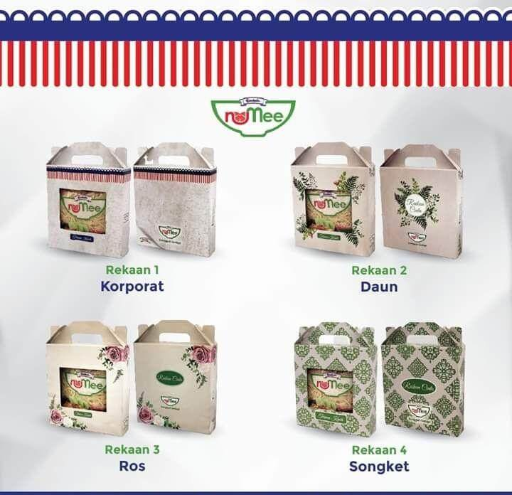 200 Pcs RM2 Doorgift Goodies NuMee Gardenia Mee Kuning with Gift Box