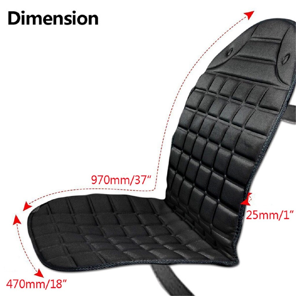 Steering, Seats & Gear Knobs - 1 Piece 12V 35W Car Seat Heater Thickening Heated Pad Cushion Winter Warmer Cover - Car Replacement Parts