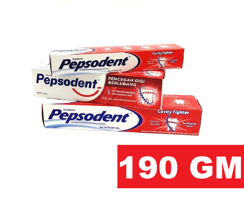 PEPSODENT CAVITY FIGHTER TOOTHPASTE 190 GM