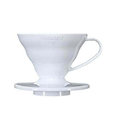 Hario Japan V60 Coffee Dripper 01 Plastic White