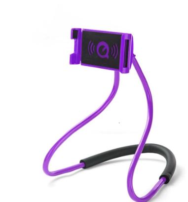 360 Rotating Lazy Bracket Universal Flexible Neck Hanging Phone Holder Upgrade lazypod