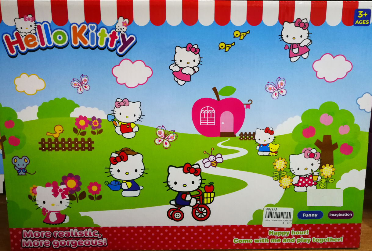 Hello Kitty Room Decoration Toys Set for girls