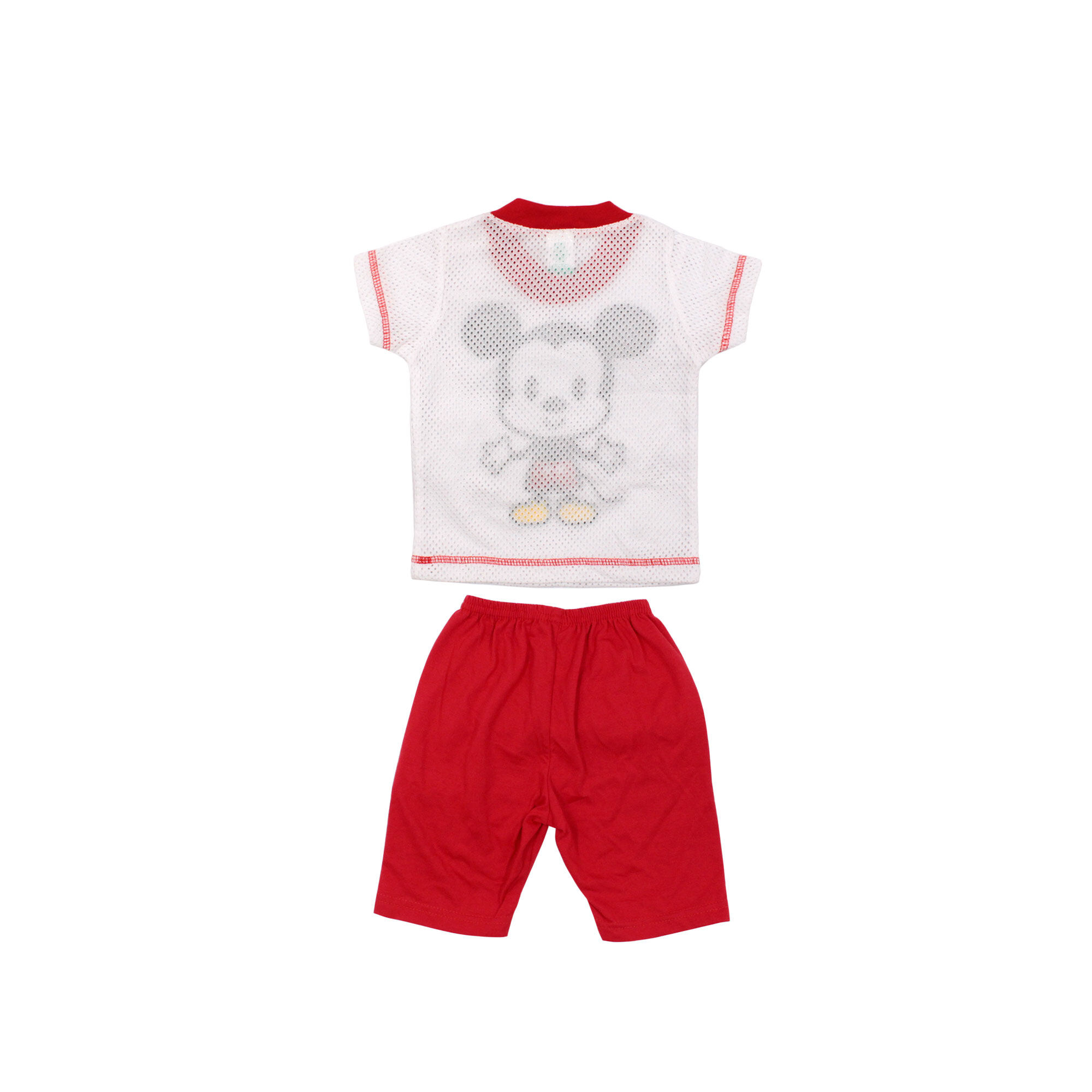 """""""[9.9] Disney Baby Mickey 4 Pcs Premium New Born Baby Clothes Gift Set 12 Months Old - Short Sleeves"""""""