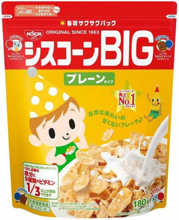 NISSIN CISCO Ciscorn Big Corn Flak 180g (0011)