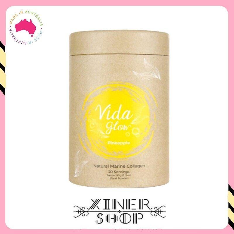 [Import From Australia] Vida Glow Pineapple Marine Collagen ( 90g )( 30 Sachet )(Made in Australia)