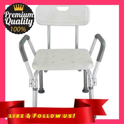 People\'s Choice Adjustable Height Elderly Bath Tub Shower Chair Bench Stool Seat Non-slip (3)