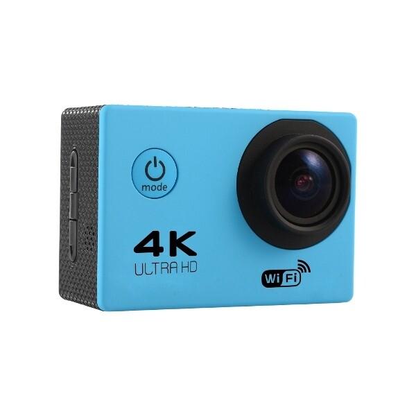 DIY Tools - Tekcam F60 Sensor OV4689 4K 2.0inch 170 HD Wide Angle Lens Wifi Sport - BLACK