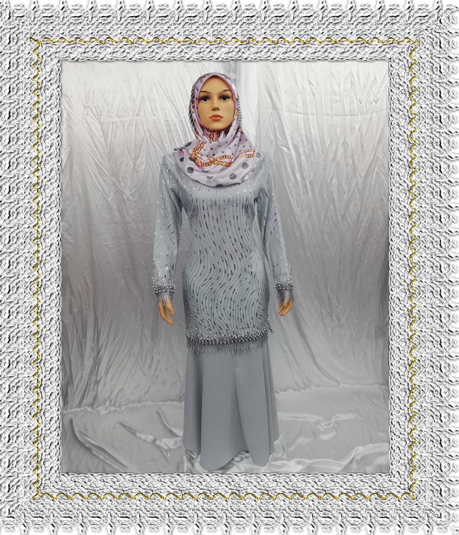 Harga Baju Kurung Fancy. Prada & Daimond Lace This Month