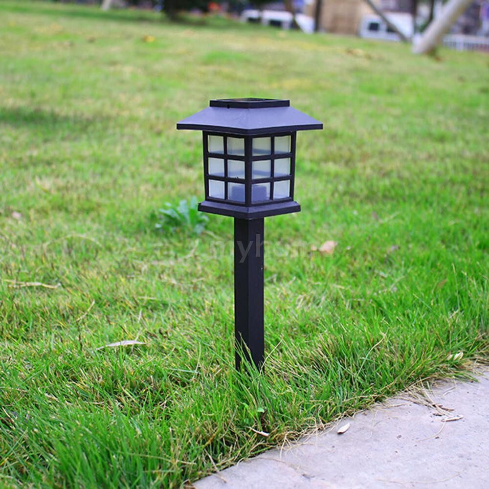 Outdoor Lighting - 2 PIECE(s)/ SET LEDs Solar Powered Lawn Light Outdoor Landscape Lamp for Pathway Garden Patio Yard - WHITE / WARM WHITE / MULTICOLOR