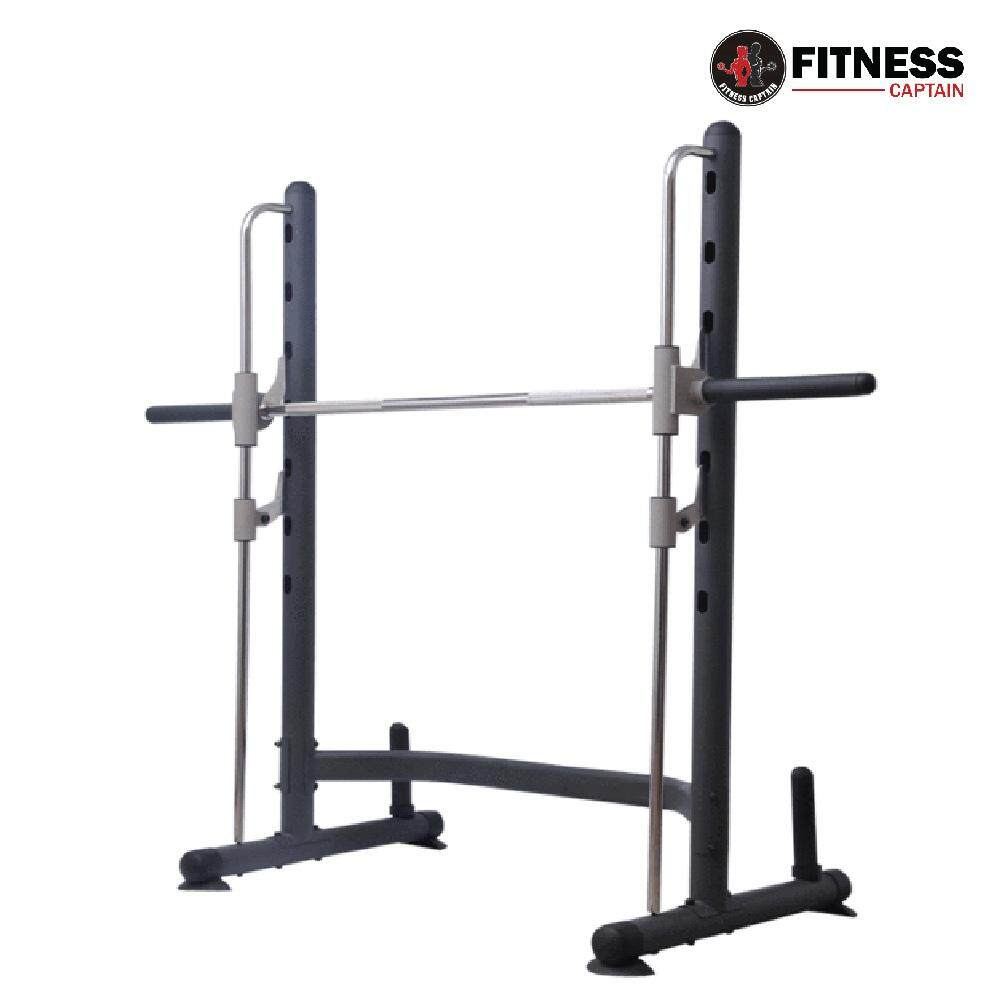 Fitness Captain Gym Smith Machine with Olympic Barbell Squat Rack