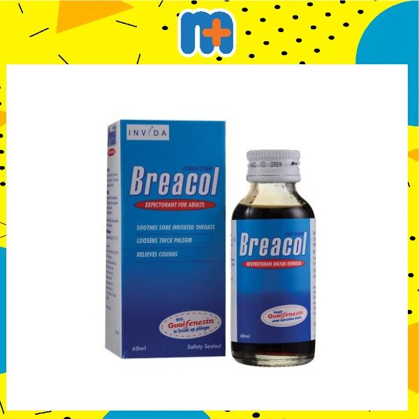 [MPLUS] BREACOL COUGH SYRUP ADULT 60ML