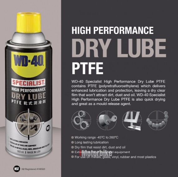 WD-40 Specialist  High Performance Dry Lube