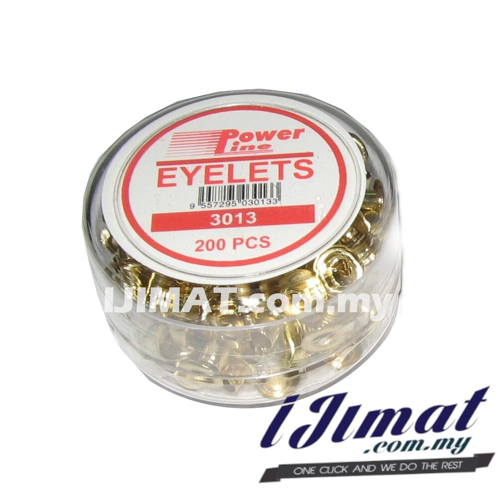 Powerline Eyelets 3013 (200pcs/boxes) Eyelet Binder Punch