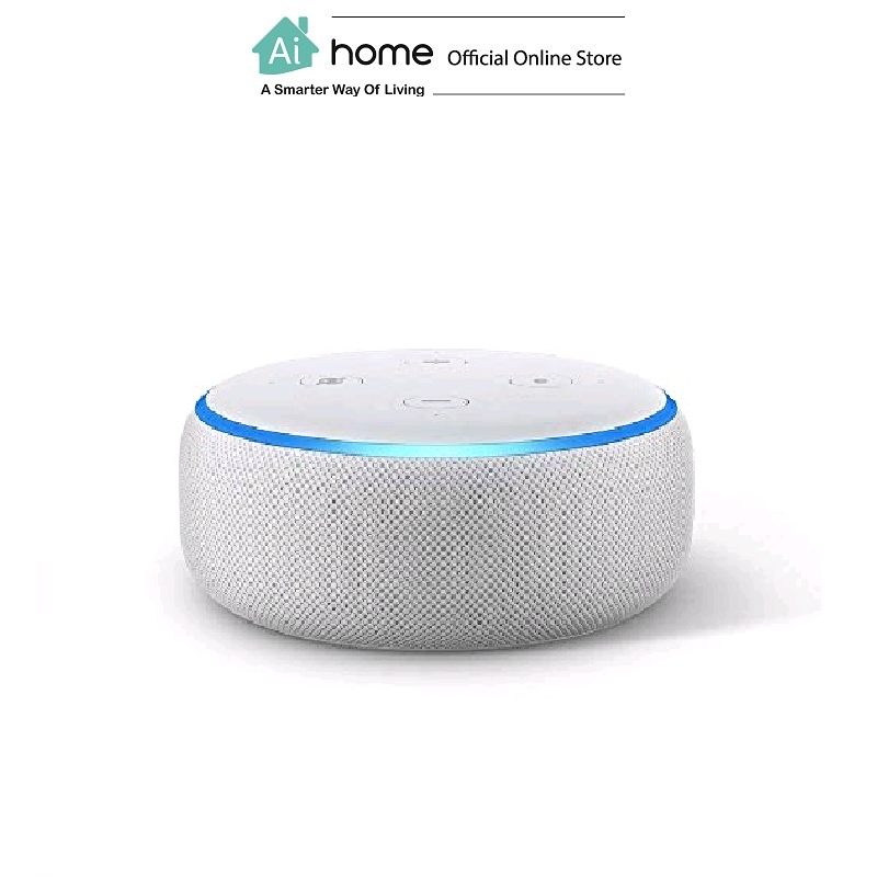 AMAZON Echo Dot 3rd Generation [ Smart Speaker ] Build in Alexa Assistant with 1 Year Malaysia Warranty [ Ai Home ] AE3W