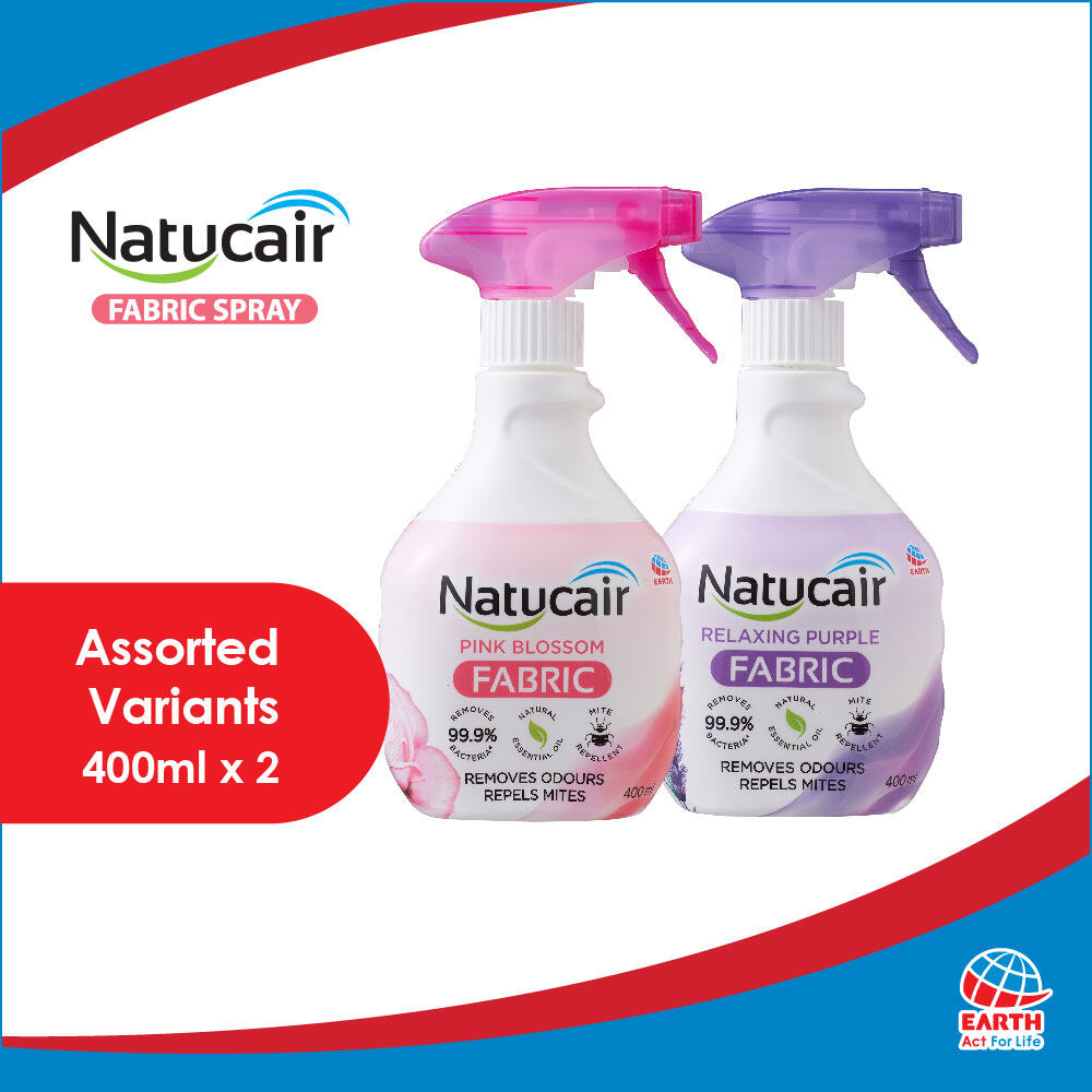 Natucair Fabric Spray Assorted Variants [Bundle of 2]EHB000001