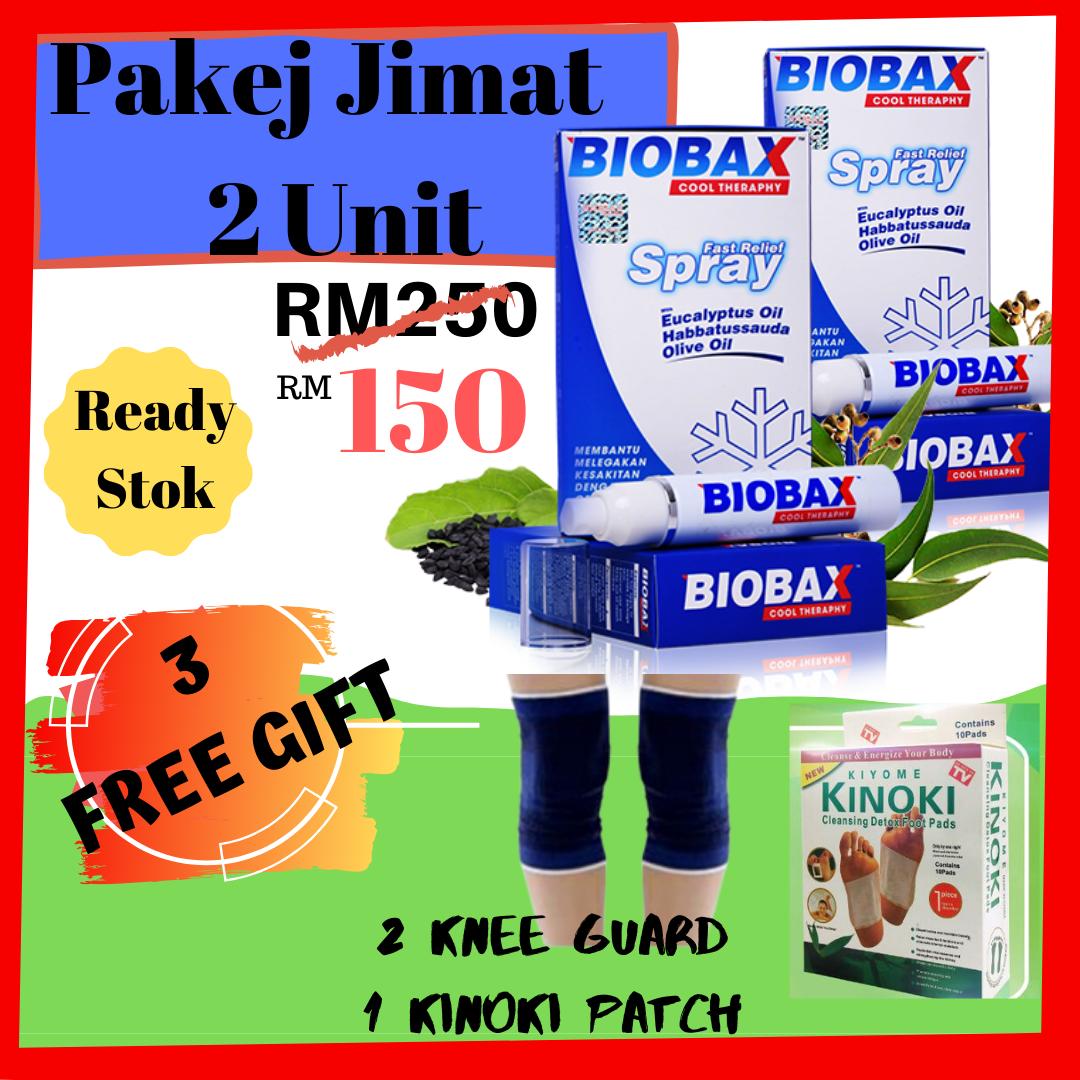 ?[3 FreeGift] Promosi 2 Biobax ? Legakan Lenguh Sakit Sendi Pinggang Terutama Ibu Bapa